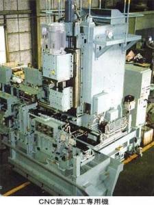 CNC筒穴加工専用機